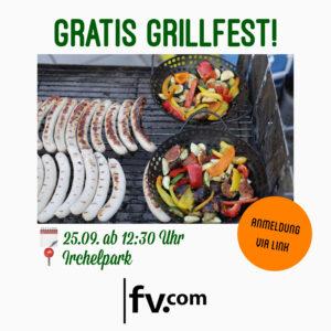 Gratis Grillfest HS 2020 Fachverein Communication